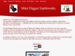 View More Information on Mini Digger Earthworks