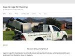 View More Information on Cape To Cape Bin Cleaning