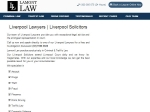 View More Information on Lamont Law, Liverpool