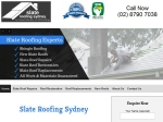 View More Information on Slate Roofing Syndey