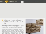 View More Information on Regal Upholstery