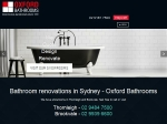 View More Information on Oxford Bathrooms Renovations, Brookvale
