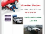 View More Information on Hiluxman Wreckers