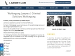 View More Information on Lamont Law, Wollongong