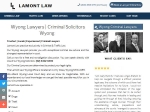 View More Information on Lamont Law, Wyong