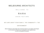View More Information on Rara Architecture