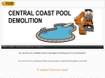 View More Information on Central Coast Pool Demolition