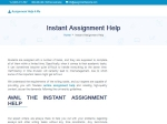 View More Information on Affordable Instant Assignment Help