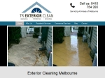 View More Information on TR Exterior Clean