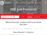 View More Information on MBE, East Fremantle