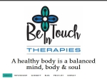 View More Information on Be In Touch Therapies