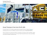 View More Information on Ach Transport Services