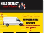 View More Information on Hills District Local Plumbers