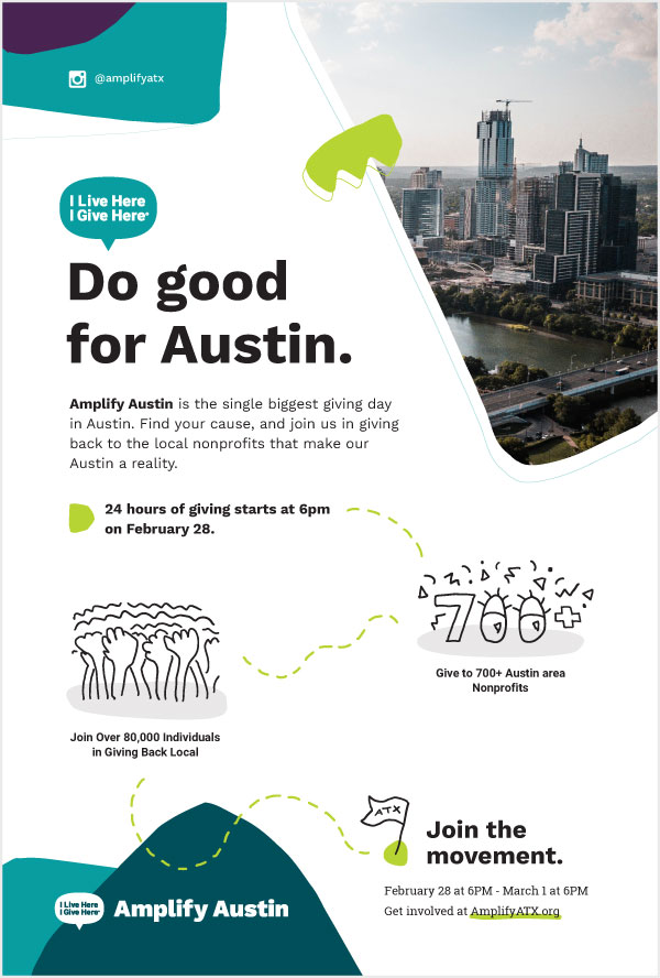Amplify Austin Day Posters