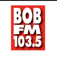 BOB FM 103.5 logo