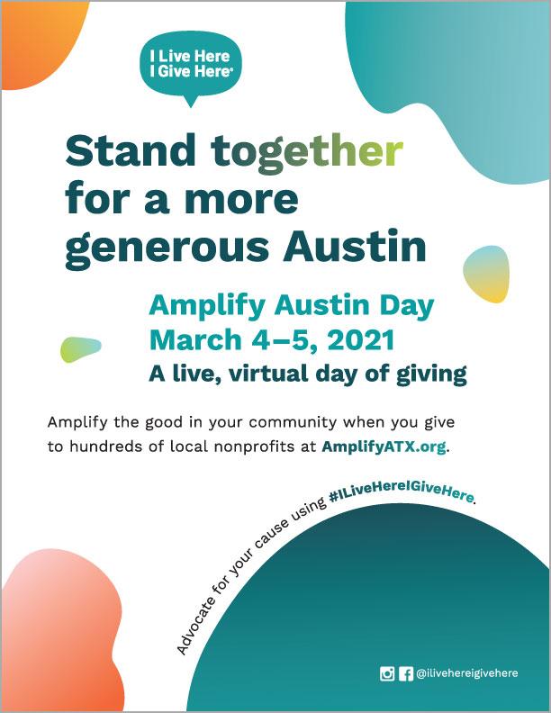 Amplify Austin Day Flyer