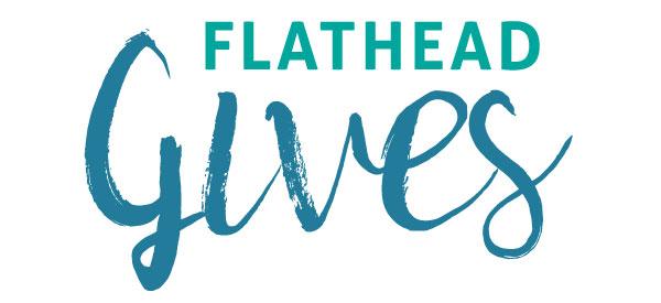 Flathead Gives Horizontal Logo