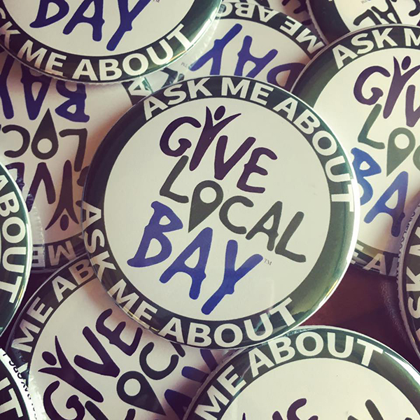 Give Local Bay Button