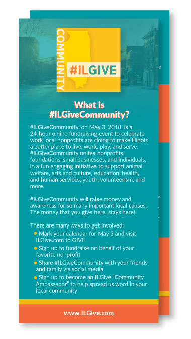 #NYGivesDay Rack Cards
