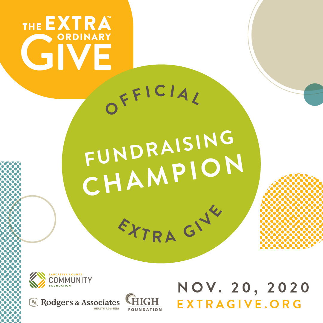 Fundraising Champion Social Graphic