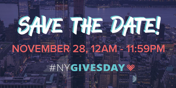 #NYGivesDay Save the Date Social Share