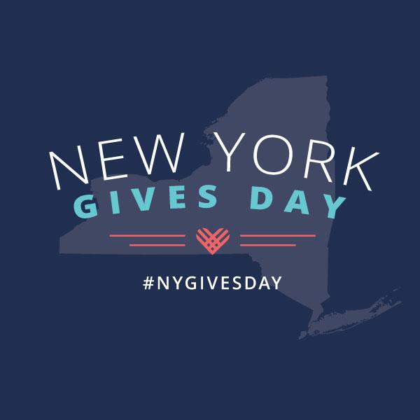 #NYGivesDay Logo - Blue