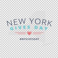 #NYGivesDay Logo - Transparent Logo