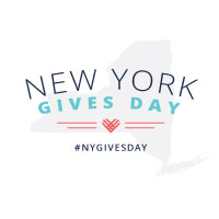 #NYGivesDay Logo - White Logo