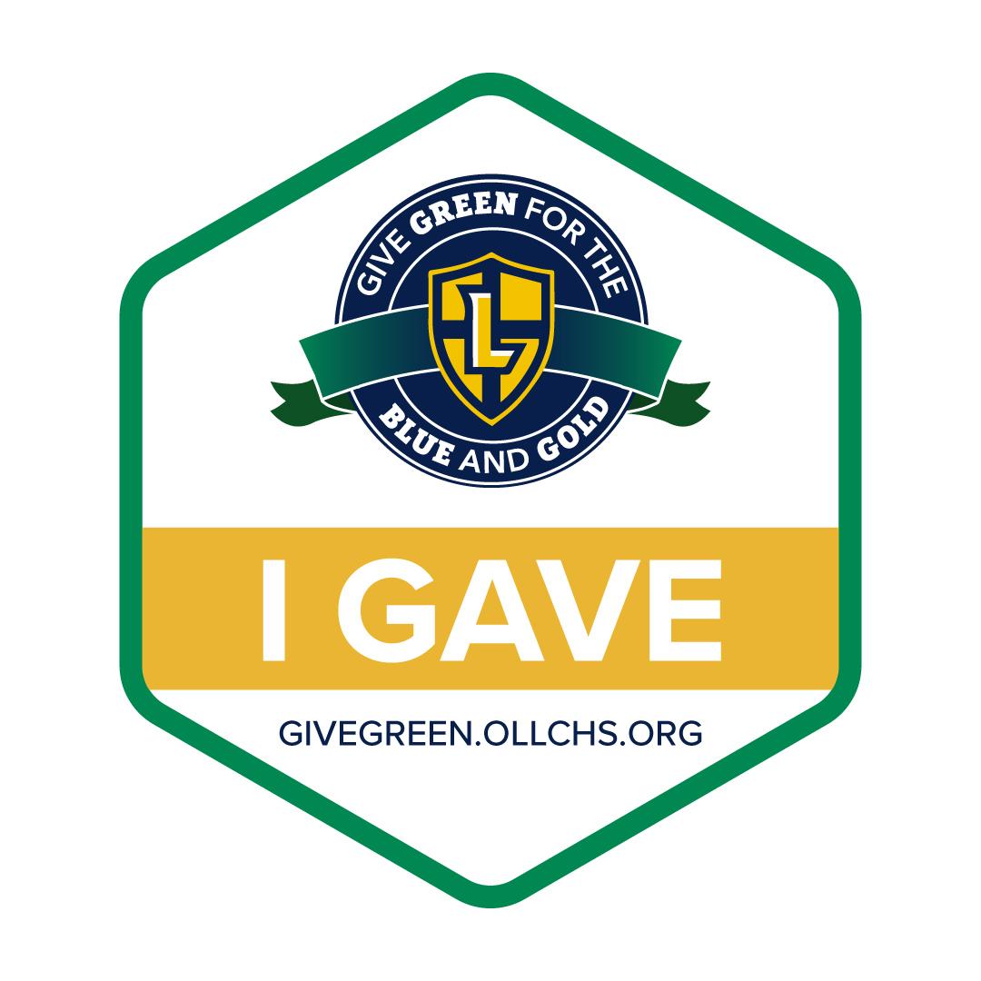 I Gave Badge