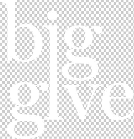 big give white logo