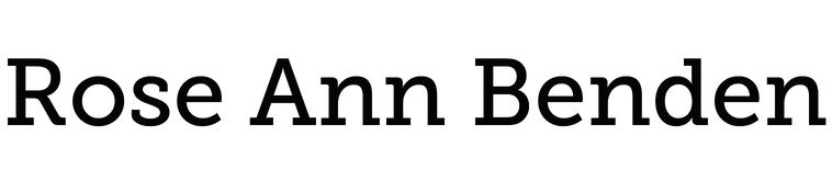 Rose Ann Benden