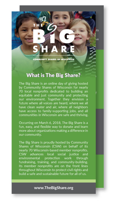 Big Share Rack Cards