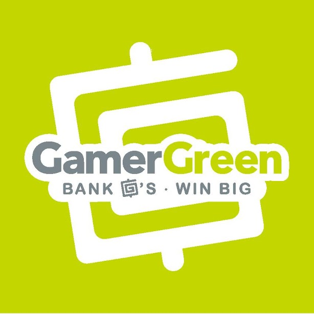 GamerGreen, GamerGreen Symbol, GamerGreen square, Gs, Bank Gs, Win Big