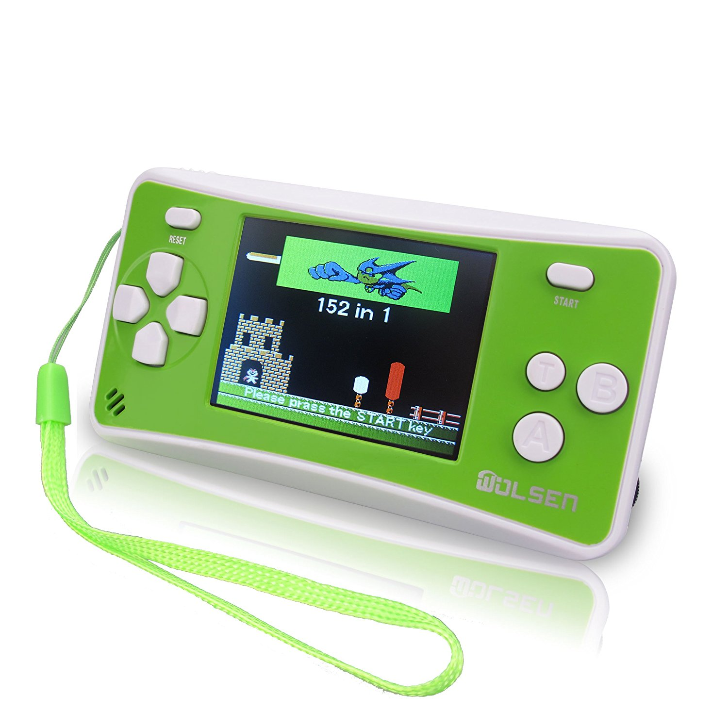 2 5 Color Portable Handheld Game Console W 152 Games