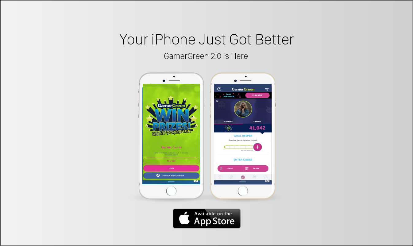 GamerGreen, Mobile App, iOS, iPhone