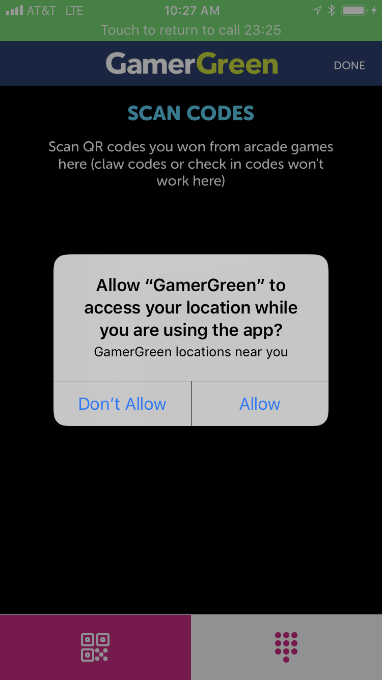 GamerGreen Mobile App Update: Location Services