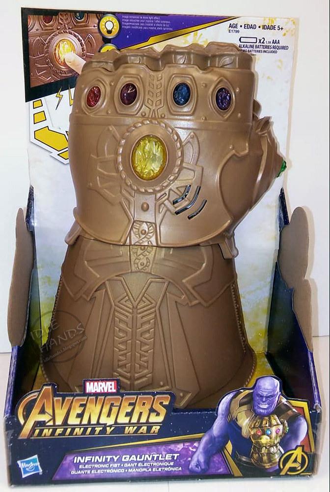 Marvel Infinity Wars Infinity Gauntlet Electronic Fist - GamerGreen