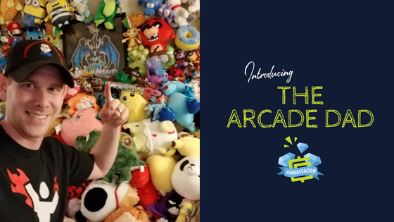 August GamerGreen Gamer of the Month: The Arcade Dad