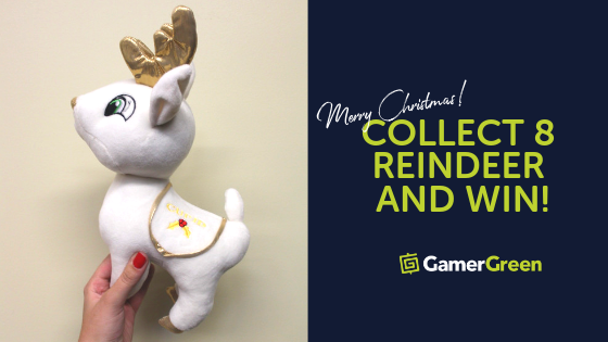 Collect 8 Reindeer and Win a Special Holiday Gift!