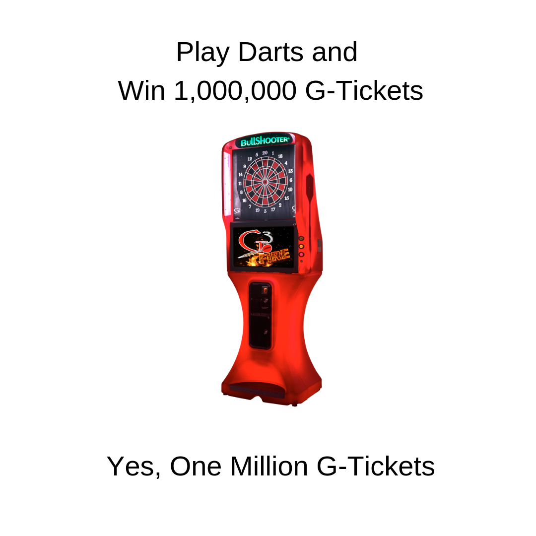 Win One Million G-Tickets!!!