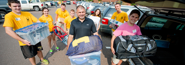 Michigan Technological University Move-in and Orientation