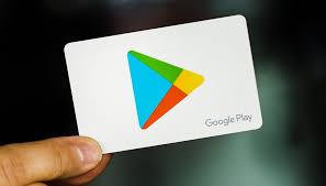 Tarjeta de Regalo Google Play
