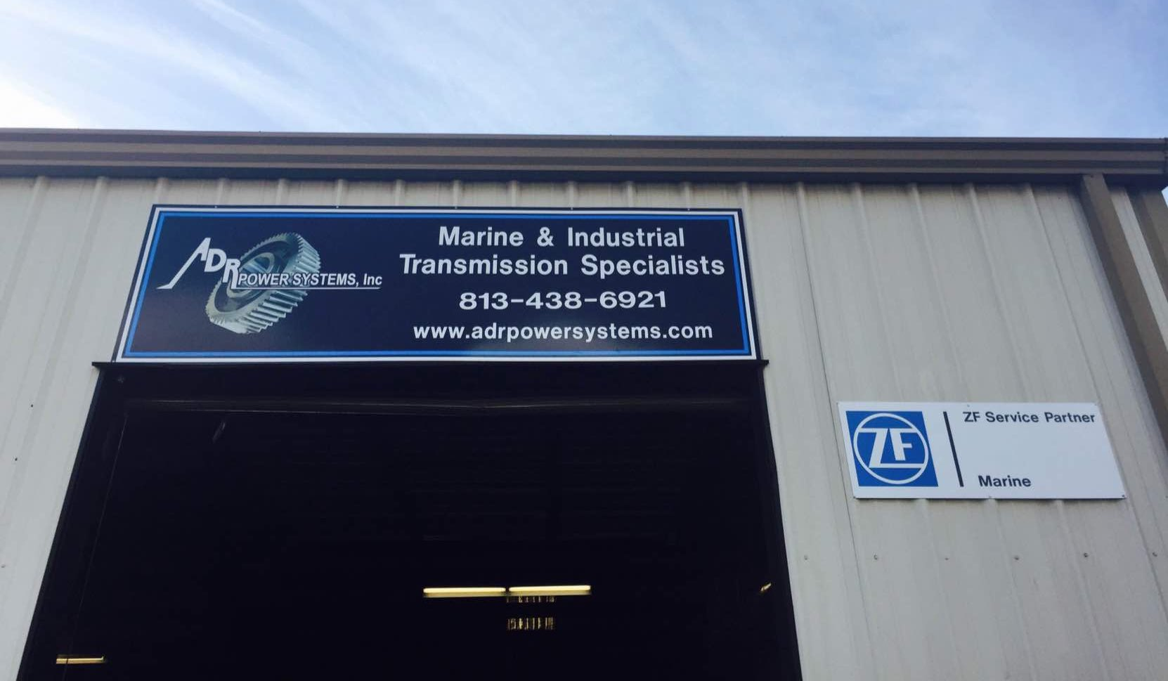 ADR POWER SYSTEMS - Marine and industrial transmission repair