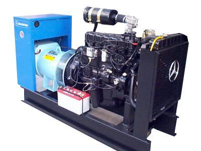 Grupos Electrógenos Motor Mercedes Benz a Gas