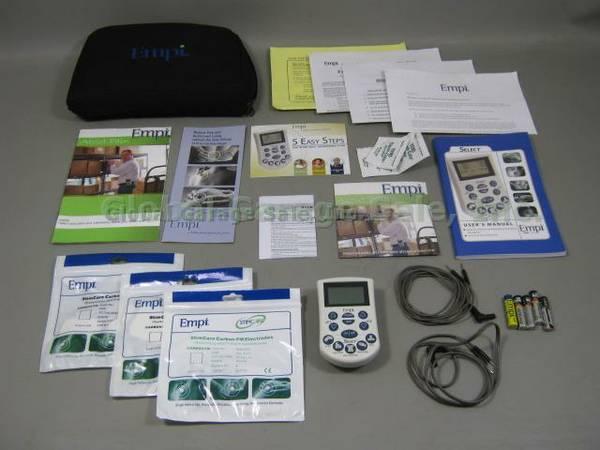 Empi Select Tens Unit Lead Wires | Empi Select Tens Pain Management System Device Bundle Lot