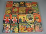 20 Vtg Dick Tracy Big Better Book Lot On Voodoo Island And The Boris Arson Gang+