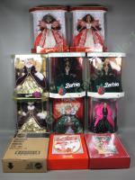 10 '90s Barbie Doll Collection Happy Holiday Special Edition Coca-Cola