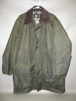 Men's Barbour Border A200 Green Waxed Wax Cotton Jacket Coat C44/112CM England
