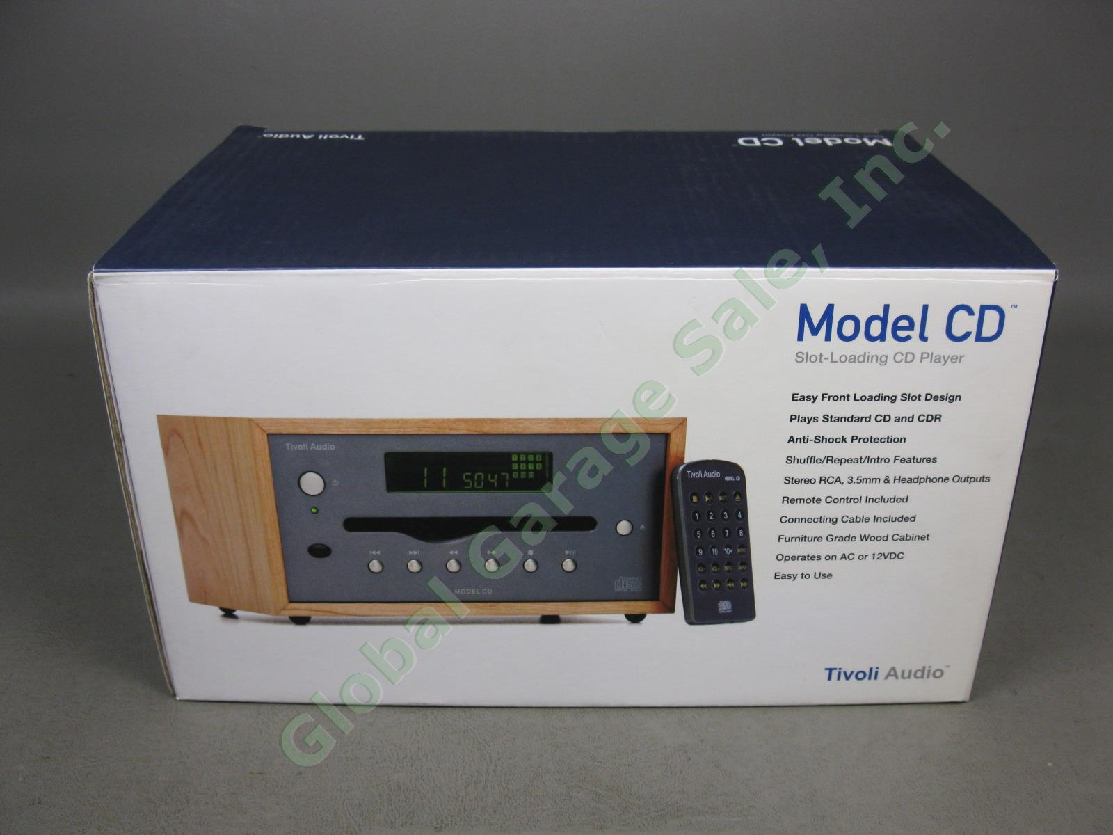 Tivoli audio model cd slot loading cd player poker table fabric diy