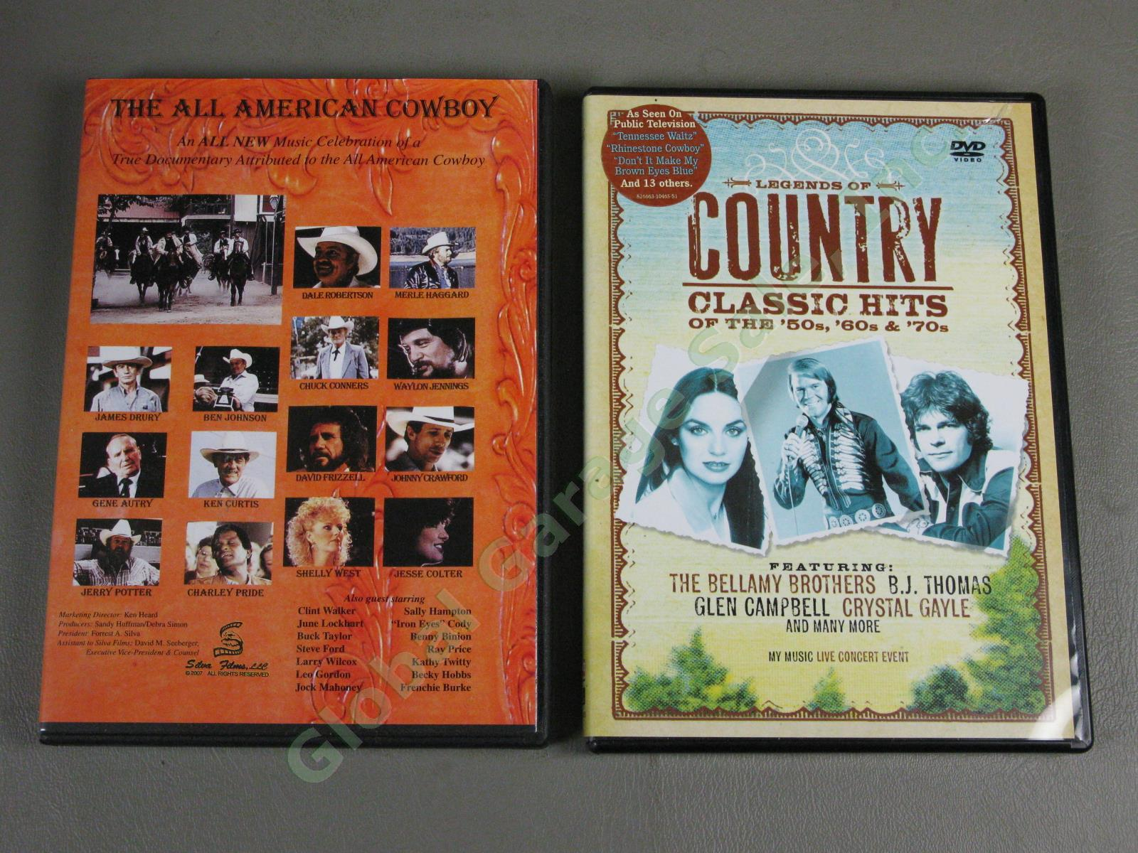 18 Country Music Dvd Lot Nashville Sound Grand Ole Opry